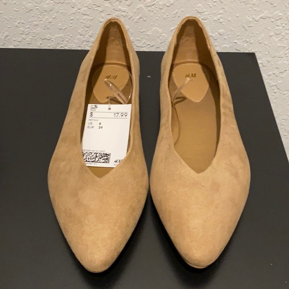 H&M Pointed Flats Size 39